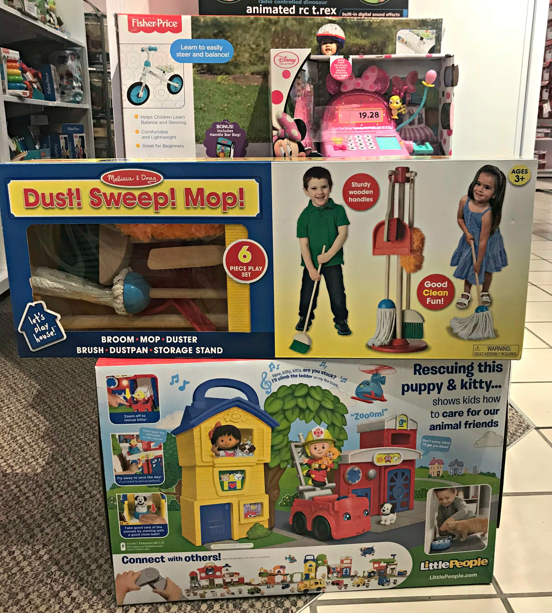 JCPenney toy shopping haul