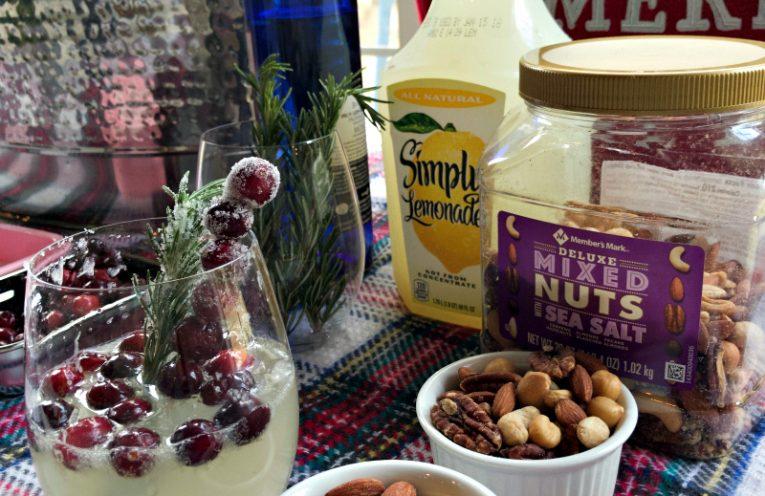 My Favorite Holiday Lemonade Sangria #SimplyHolidaysAtSams #ad