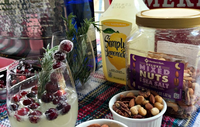 My Favorite Holiday Lemonade Sangria #SimplyHolidaysAtSams #ad