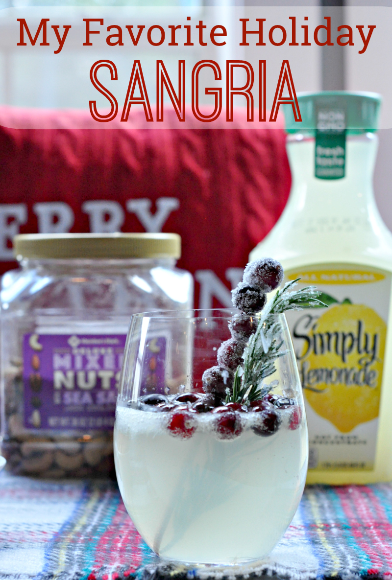 My Favorite Holiday Sangria #SimplyHolidaysAtSams #ad