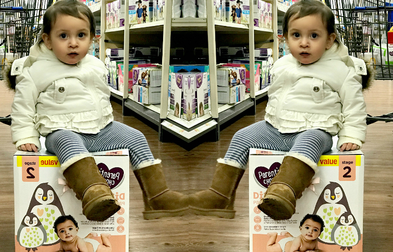 Survive the Diaper Stage With Parent's Choice #WalmartBaby