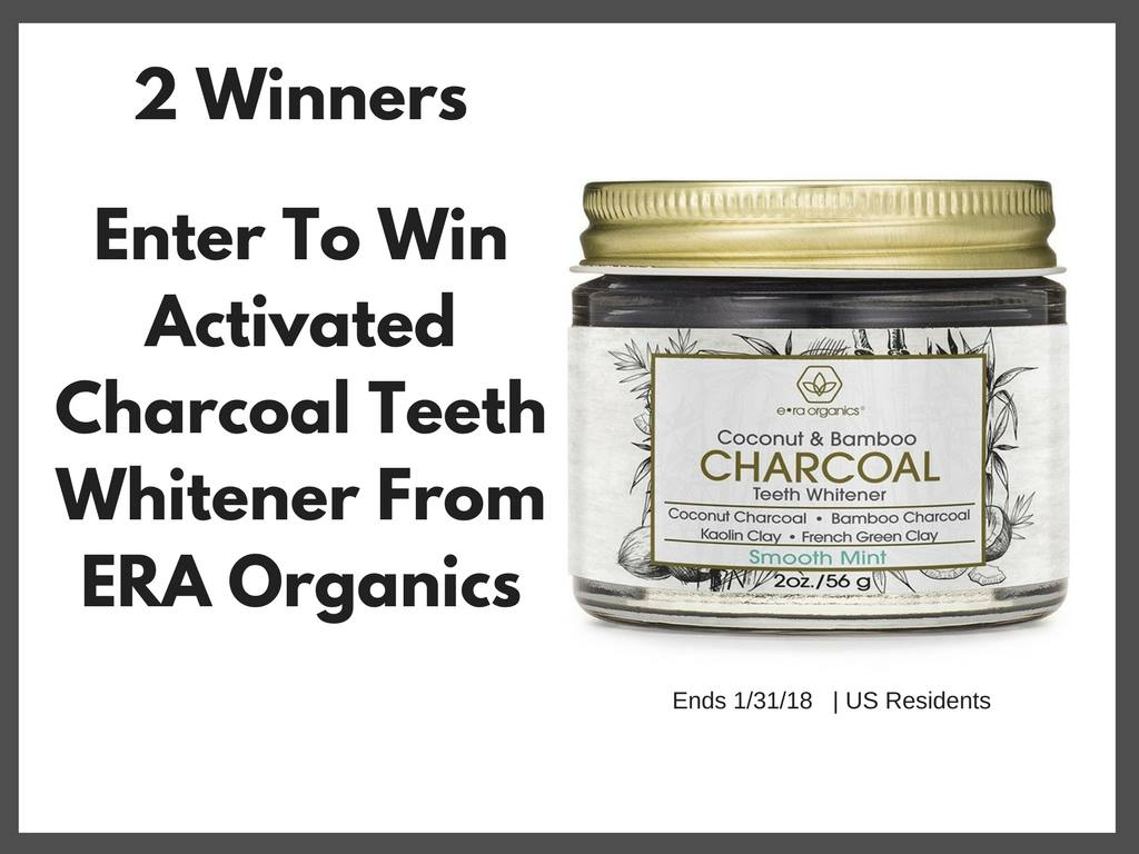 Activated Charcoal Teeth Whitener #Giveaway