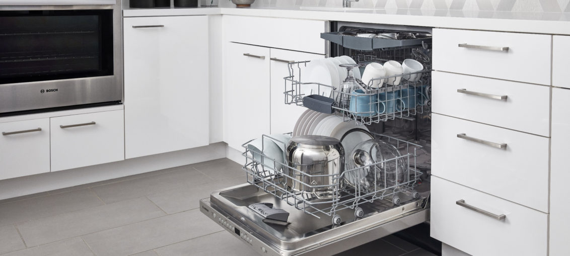 100 Series Bar Handle Open View dishes
