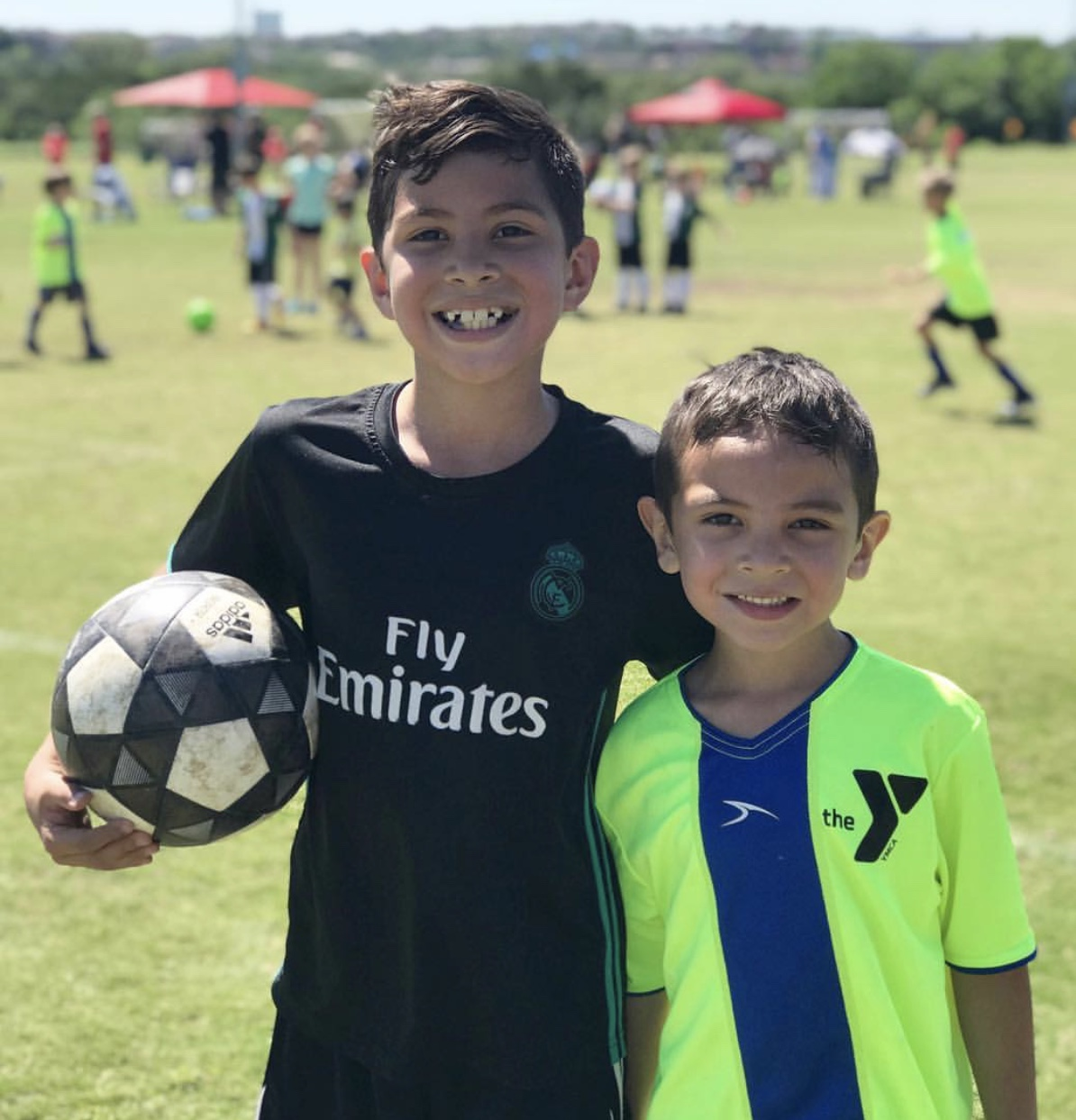 Soccer Fun this summer Challenger's International Soccer camp