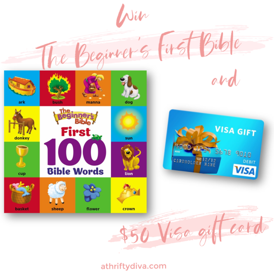 Enter to win The Beginners Bible plus $50 Visa Gift Card Giveaway