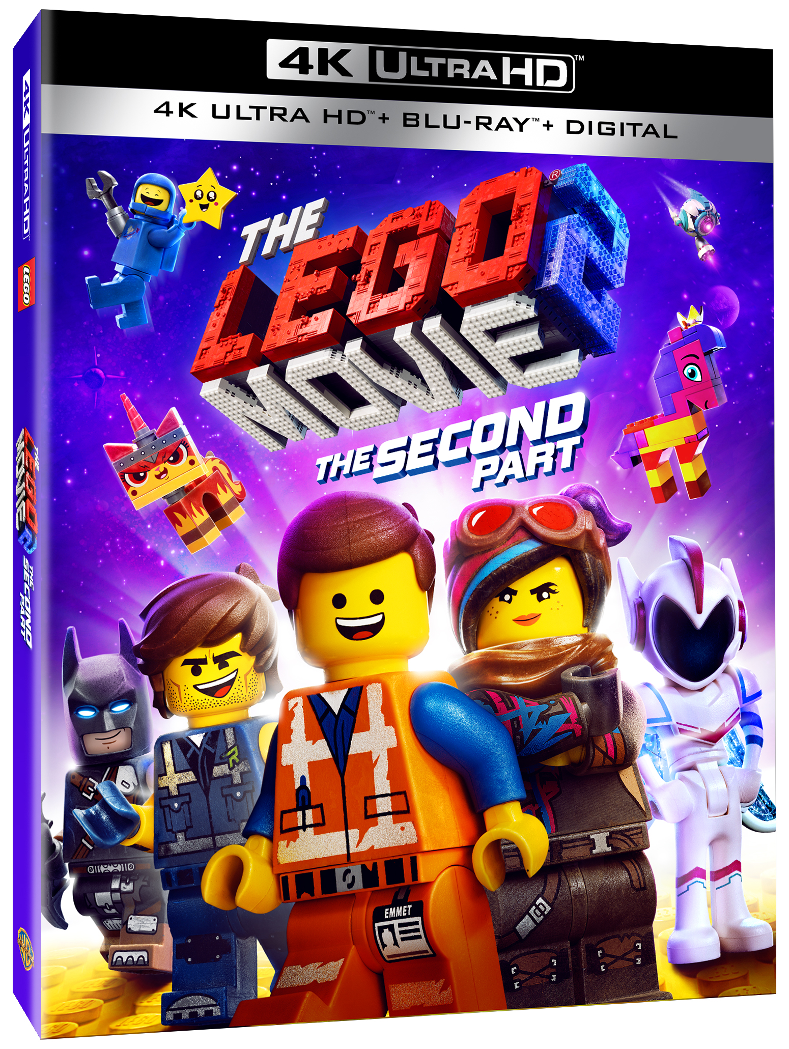 The Lego Movie 2 The Second Part 4K 3D