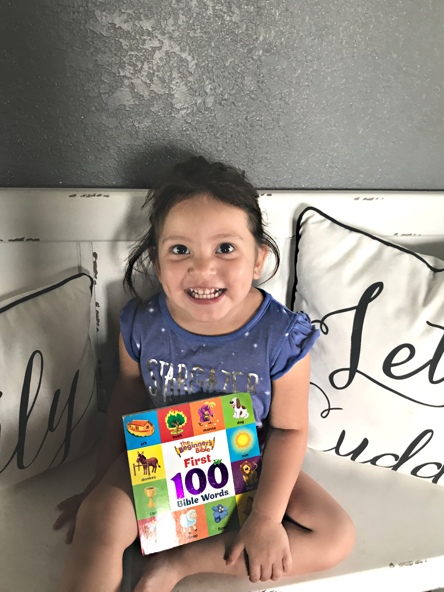 The perfect board book! The Beginner's Bible First 100 Bible Words