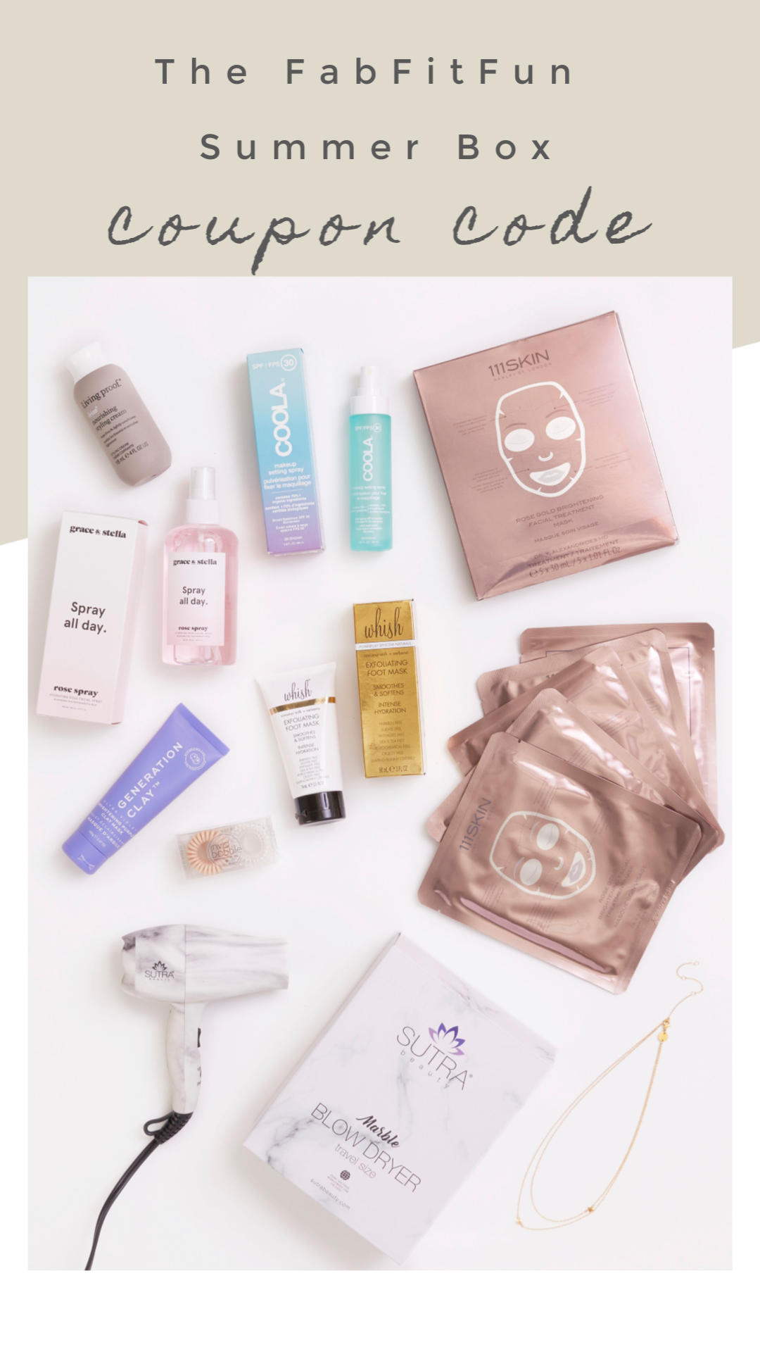 The Summer Fabfitfun Coupon Code Fabfitfunaffiliate A Thrifty Diva 25% off by using the code — clicking here will display the code & take you to the store. a thrifty diva