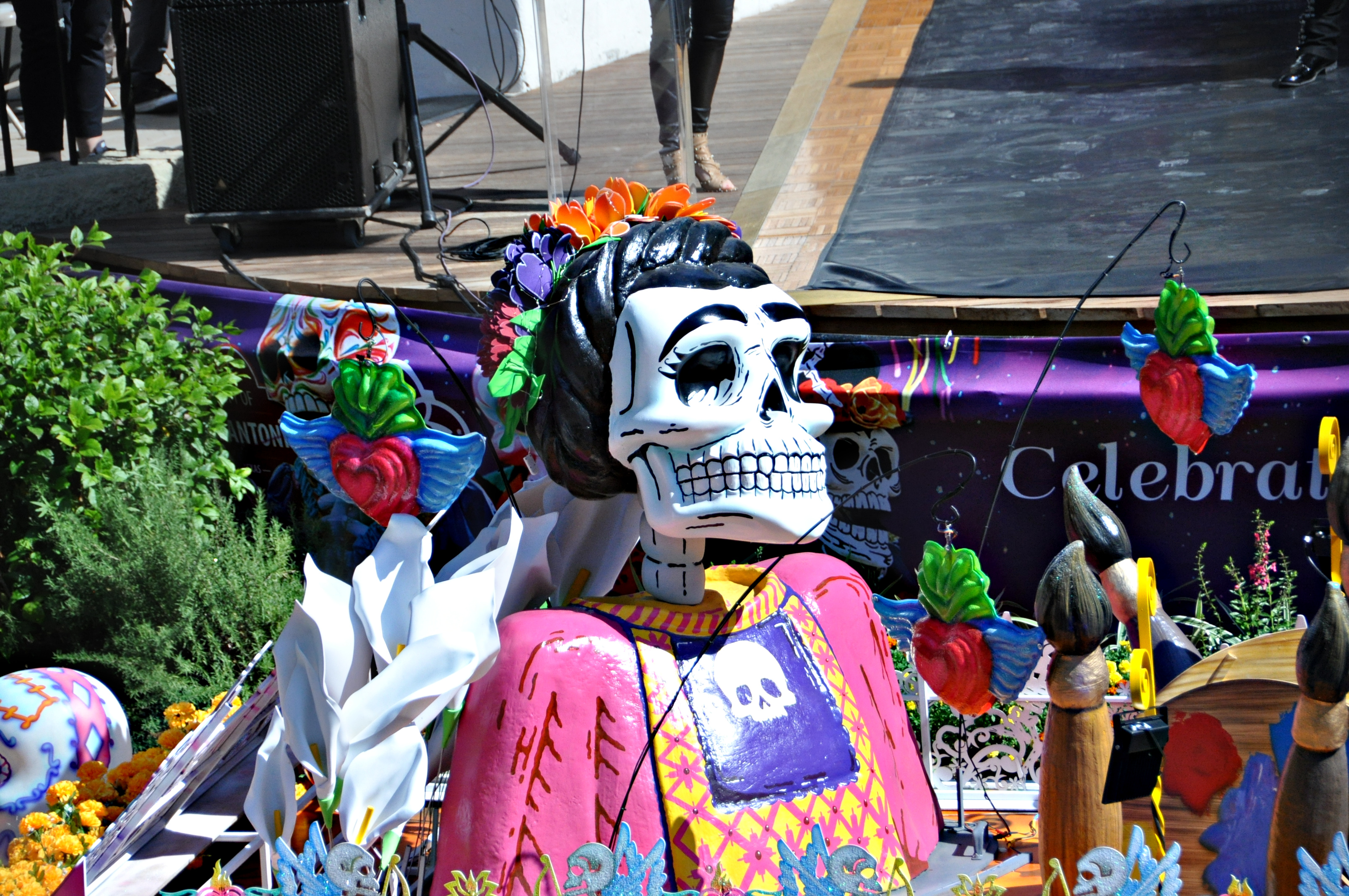 Day of the Dead San Antonio presents Catrinas on the River Parade