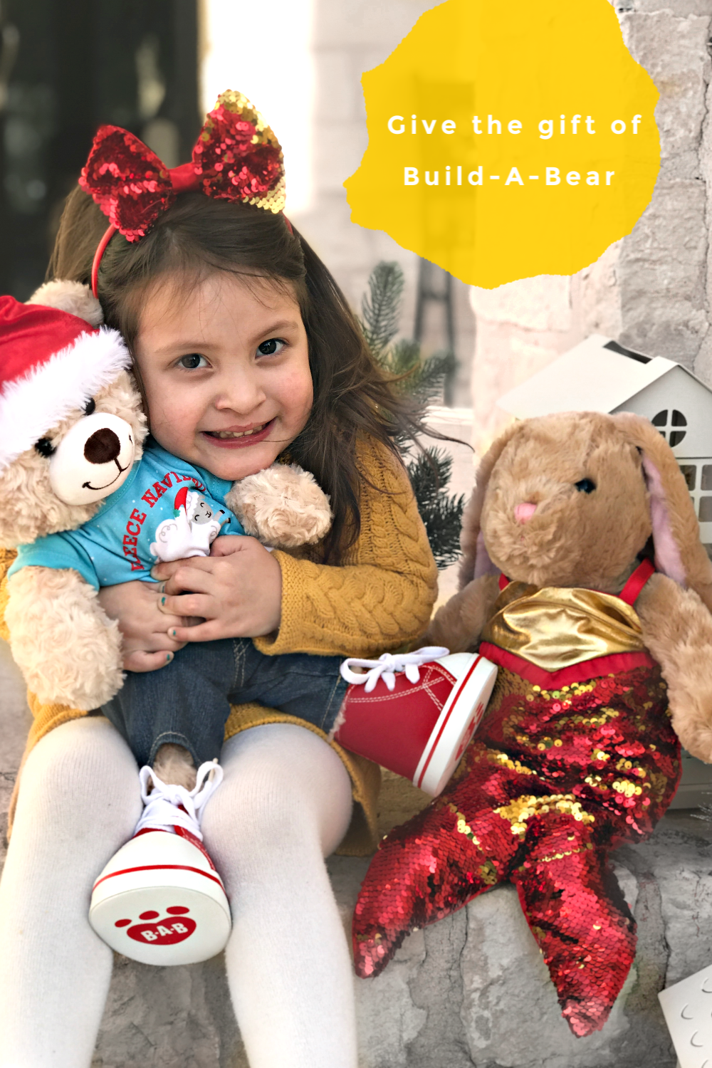 Give the gift of a Build-A-Bear