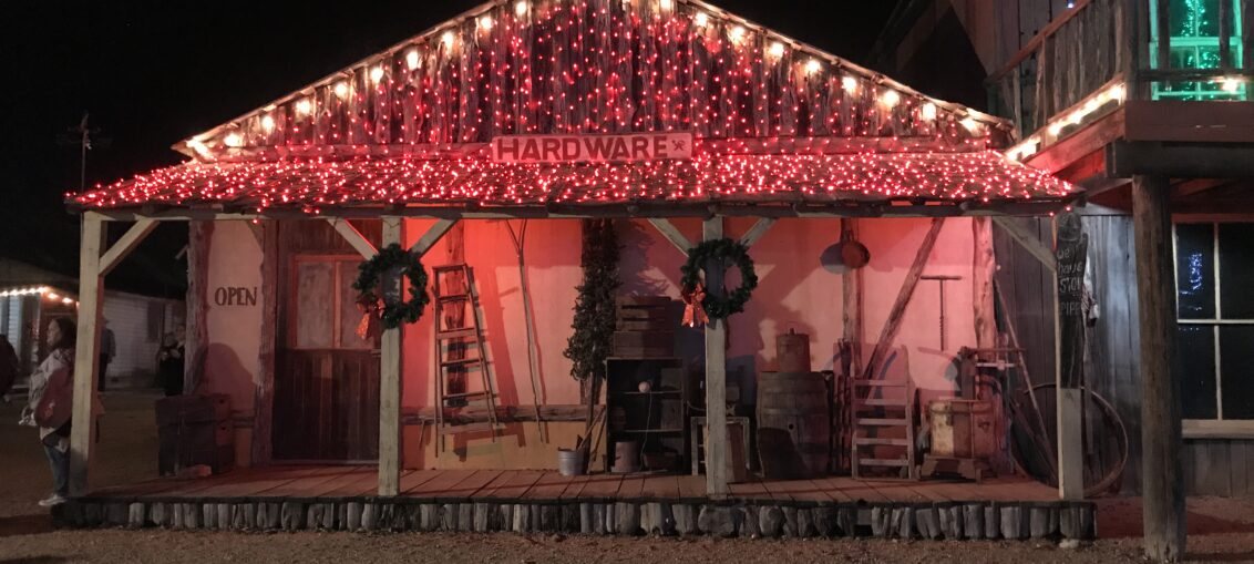 Enchanted Springs Ranch Comes Alive For Christmas Light Fest In Boerne, Texas