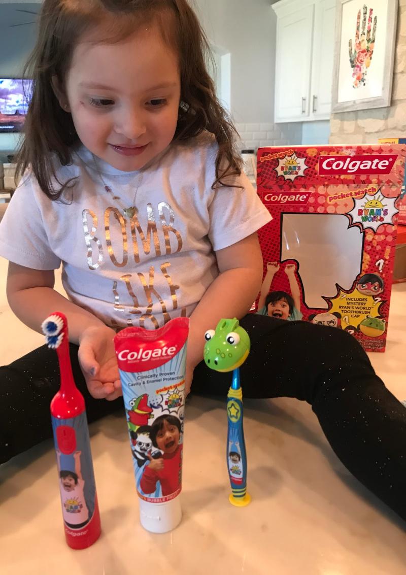 Ryans World Colgate Sets For Kids (1)
