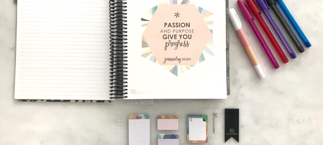 Erin Condren Purposeful Planning